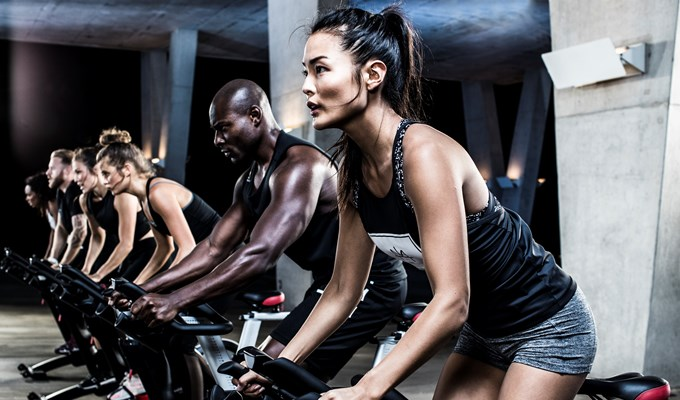 Les Mills Spin class