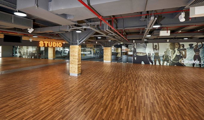 GymNation's largest studio in Dubai