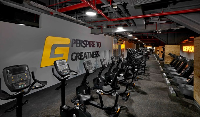 GymNation's cardio area
